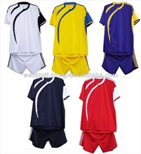 2014 latest design Soccer uniform with Customized Design