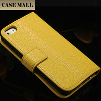 2015 CaseMall China Great quality case flip wallet case for iphone 5g credit card slot wallet leather case