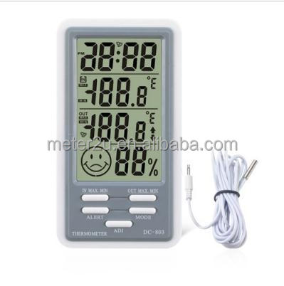 top quality Digital dual temperature thermometer Humidity Meter Precise LCD Hygrometer Thermometer