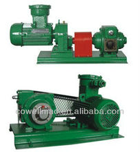 electric motor rotary vane pump for fuel oil delivery truck