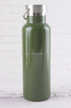 High Quality Colored Non-Rusty Stainless Steel Vacuum Water Bottle Double Wall Insulated Thermos,Leak Proof Metal Lid