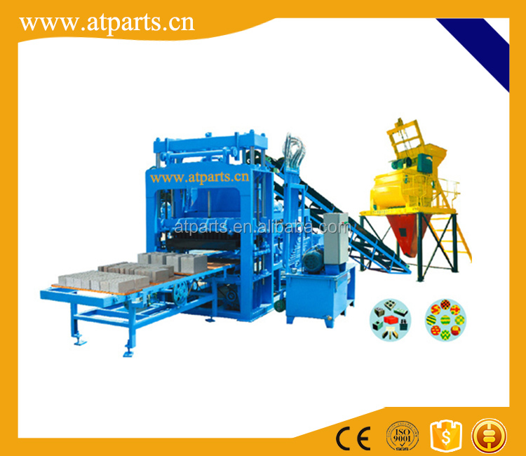 Atparts small scale clay brick making machine with CE certification