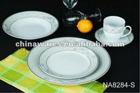 hot sale dinner set ceramic trying pan