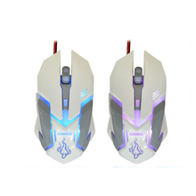 New design 6d USB wired game optical mouse