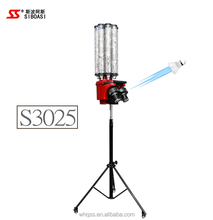 SIBOASI Professional vertical badminton shuttlecock shooting machine S3025 with remote control