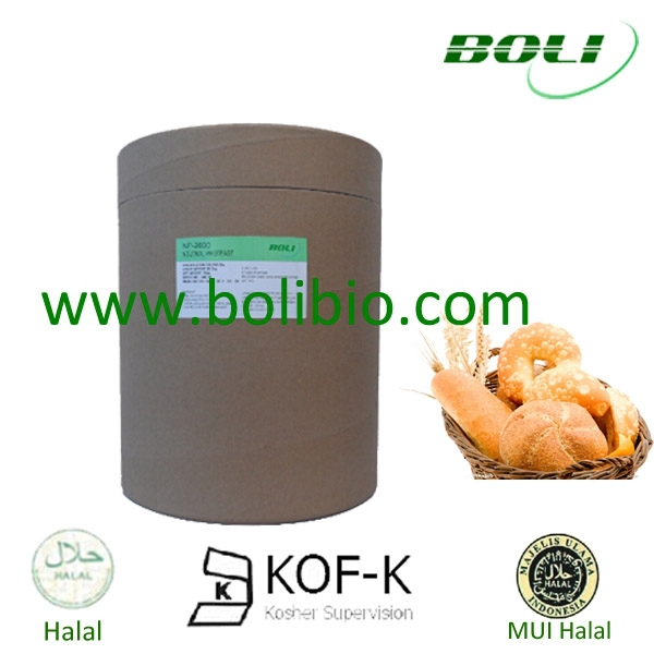 Bakery ingredients, Protease enzyme powder