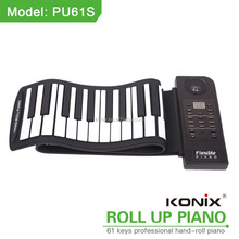 Rollo fácil 61 teclas flexibles educativo órgano 61 eléctrica llave USB teclado digital piano CASIO teclado virtual piano