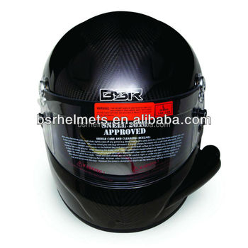 SNELL SA2010and SNELL SA2010 rated withFull face helmet with side air tube
