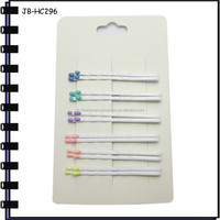 2015 New Style Hair Accessories White Bobby Pins
