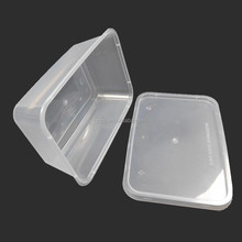 wholesale 1000ml / 34 oz plastic disposable food / meal prep container, frozen food / bakery packaging box