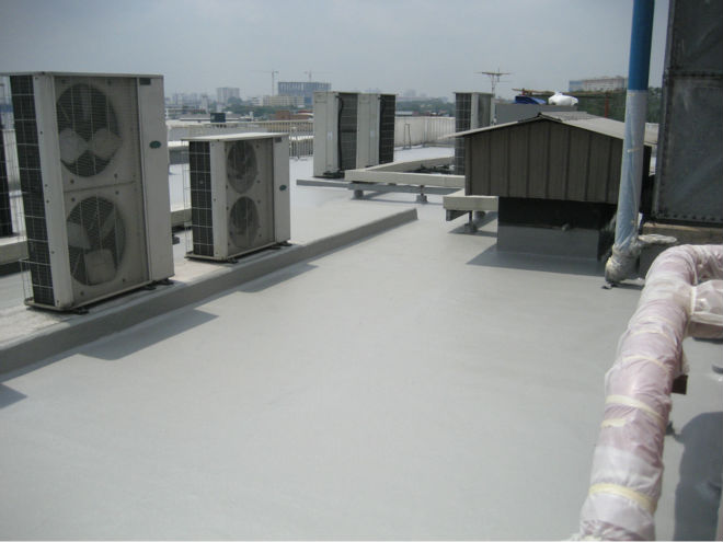 POLYURETHANE WATERPROOFING ROOF COATING