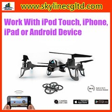 Hot selling Smart Phone controlling toys IOS/android wifi quadcopter drone with camera vs parrot ar. drone 2.0