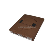 hot selling Hand Rotating Leather Case For iPad Air