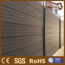 Easy installation cheap outdoor wpc decorative fence panel