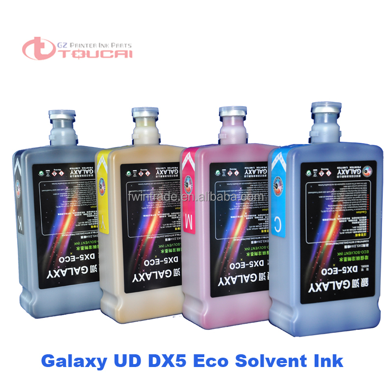 DX5/DX7 eco solvent printing ink tinta