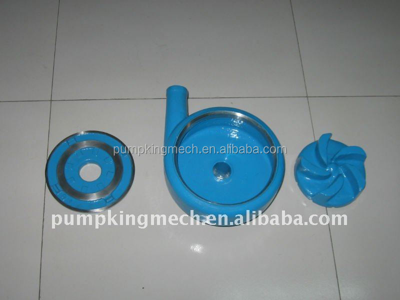 high chrome alloy A05 impeller for slurry pump ( manufacturer ) in china