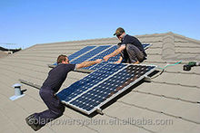 New design Free energy easy upgrae 100W portable solar power system kits mini solar project