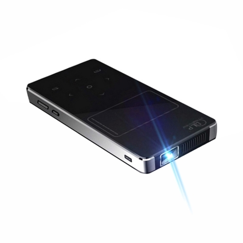 U9 Mini Portable 4000 Lumens DLP Smart <strong>Projector</strong> with Remote Control & Holder,(Black)