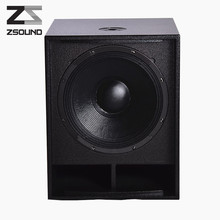 Custom 15 inch line array box big magnet subwoofer speakers