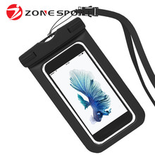 Zonesport Cellphone Pouch Mobile Phone Case Waterproof Bag