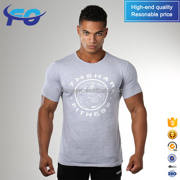 Wholesale Custom Blank Comfortable Quality Primacy Mens Gym t Shirt