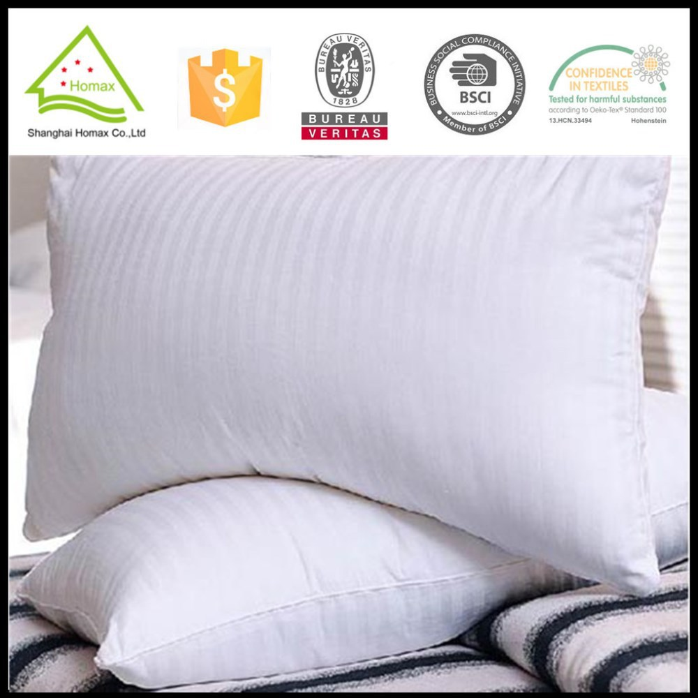 2015Hot Selling Soft Hand Feeling Antiallergic Microfiber Pillow For Hotel and home