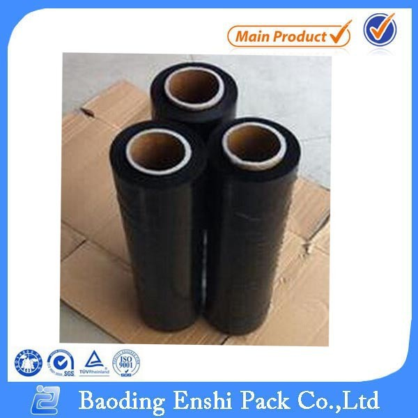 Colored Blue Clear Black Manual Hand Mini Roll Stretch Film