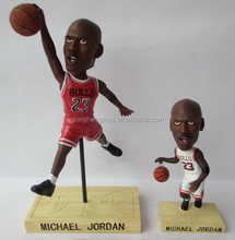 Collectible custom talking bobble head sports figures