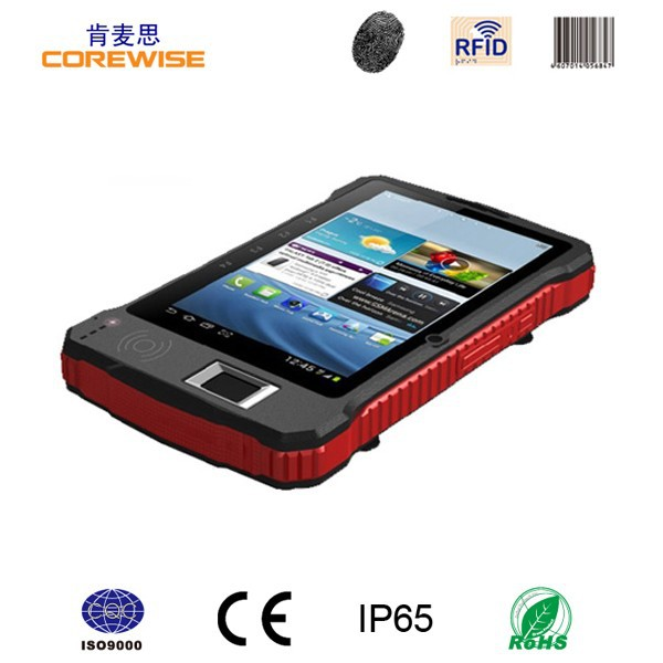 Corewise A370 tablet with 2D barcode scnner fingerprint GPS