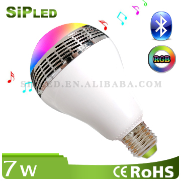 Timer Group Android iOS RGBW Bluetooth Smart LED Bulb Lighting, LED Light Bulb, Bedroom Bulb