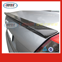 car Rear Spoiler/Wing FOR Audi A4 B6 spoiler ABT type carbon fibre black auto parts