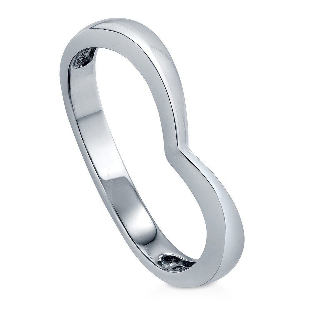 sterling silver 925 sc Curved Band R500428