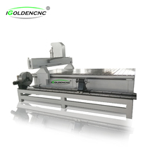 4 axis cnc router milling engraver machine