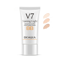 OEM/ODM BIOAQUA V7 BB cream for skin care Concealer Smooth Moisturizing Whitening Compact Foundation makeup with BB cream