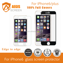 Mobile Used 100% Cover Edge To Edge Glass Screen Protectors For Iphone 6