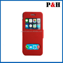 High Quality leather case for iphone 6 2017 made in shenzhen