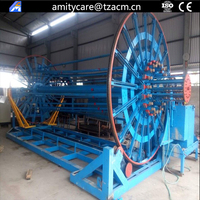 D300-4000MM concrete drain pipe cage welding machine
