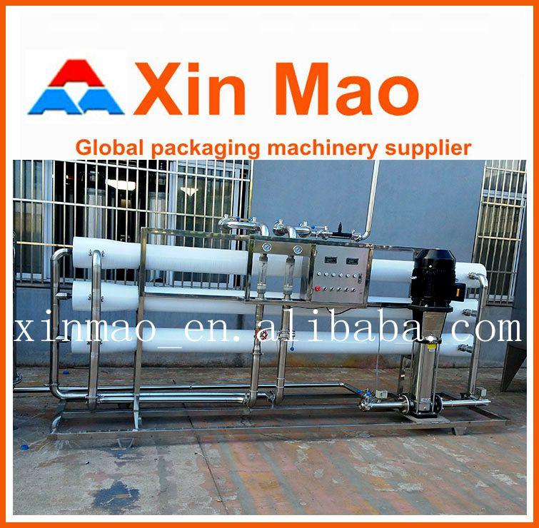 Mini Desalination Plant : Purified drinking water production plant ro desalination