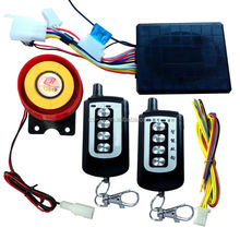 electronic immobilization motorcycle alarm system with remote control