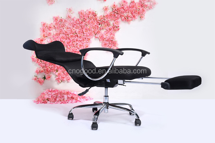 ergonomic easy folding chair net fabric office chair