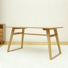 Nordic simple style solid wood table dinning table