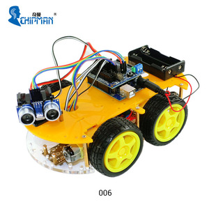 Bluetooth Multifunction Car 006 Kit A Based on Platform 2013 for arduinos