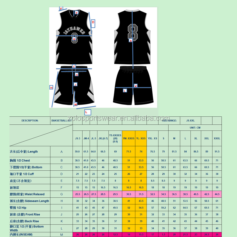 Cheap Custom Sublimation Reversible Basketball Uniforms
