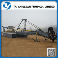 China Mechanical Cutter Suction Dredger Machine