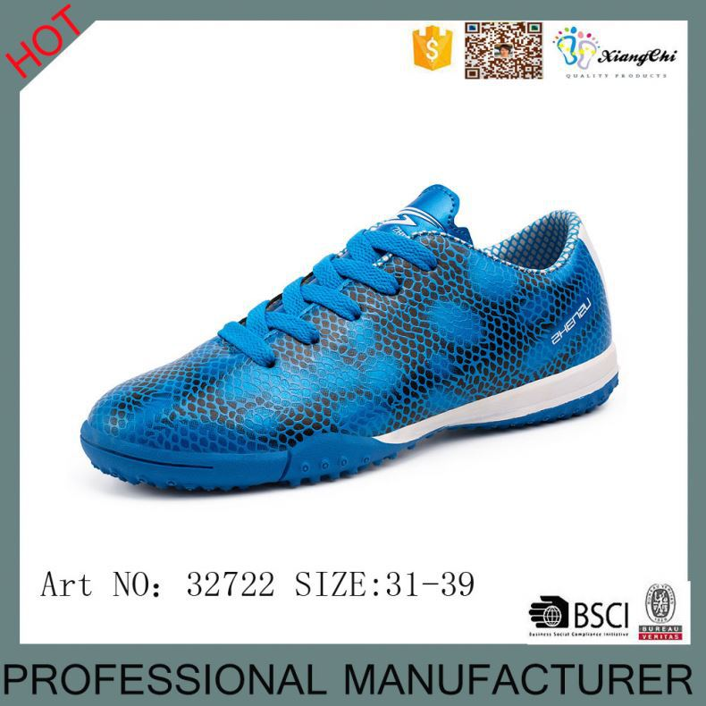 2016 new indoor Hard-wearing High quality Low price athleisure shoes soccer shoes football shoes
