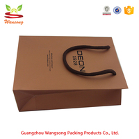 Luxury Custom Printed Paper Packaging Bag