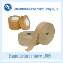 Water Activate Kraft Paper Tape in kraft gummed paper
