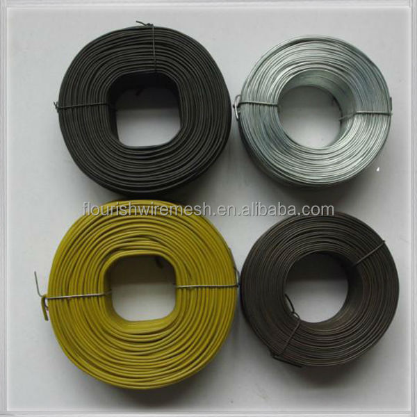 high quality black rebar tie wire (factory)