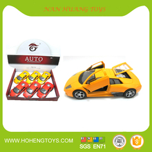 Hot crazy die cast model car Pull Back Vehicle can open the door with sound/light