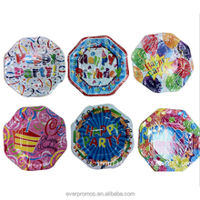 2016 Wholesales Party Birthday Tableware Custom Printed Disposable Paper Plate